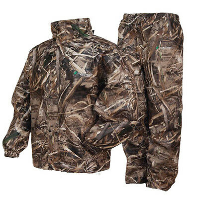 Frogg Toggs AS1310-56SM Men's Realtree Camo Max 5 All Sports Suit - Size Small