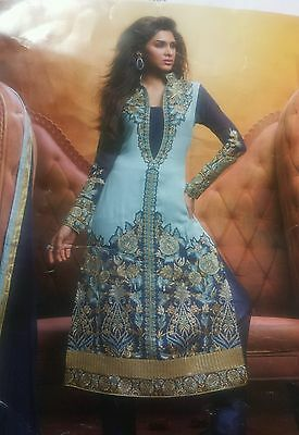 Pakistani indian Designer unstitched shalwar kameez,  anarkali dress