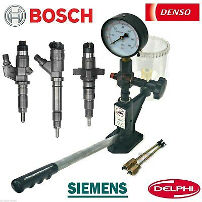 DIESEL INJECTOR NOZZLE TESTER Calibrate Injector Pressure leakage spray pattern