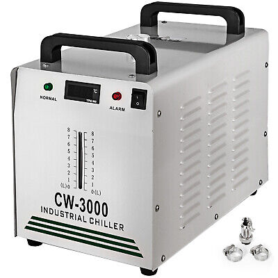 Cw-3000 Industrial Water Chiller 60W/80W Glass Laser Tube Laser Engraver Pro
