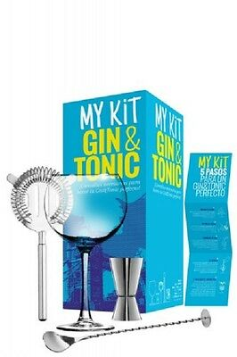 My Kit Gin & Tonic Set con accessori per gin tonic