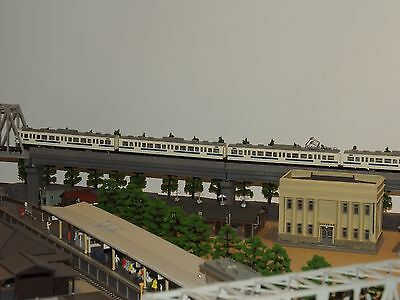 N scale, Kato train set, 8 coaches (294)