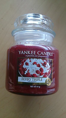 Bougie Yankee candle Berry trifle moyenne jarre