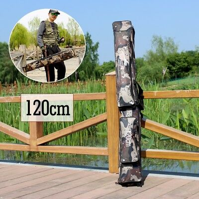 Fishing Rod Bags Tackle lure Box Storage Fishing Case Folding Soft 120CM