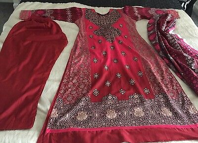 Pakistani Printed LAWN Suit COLLECTION STITCHED SHALWAR KAMEEZ SUIT MediuM-l
