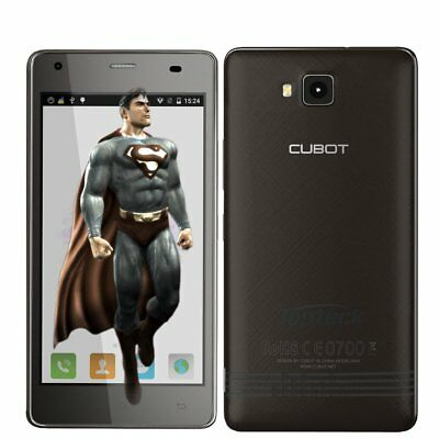 """CUBOT Echo Smartphone Android 6.0 Quad Core 5.0"""" Unlocked Mobile Phone Black Hot"""