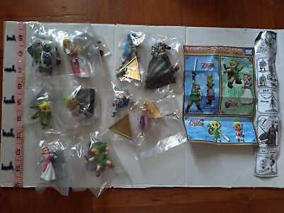 Takara Tomy Legend of Zelda Ocarina of Time Link Princess figure gashapon 6 pcs