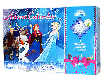 Frozen Eiskönigin Adventskalender Bullyland Advent Kalender Disney Elsa Anna
