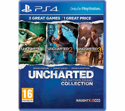 Uncharted: The Nathan Drake Collection (Ps4) Brand New & Sealed - Uk Pal