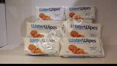 WaterWipes Sensitive Baby Wipes, Natural and Chemical-Free,6 x 60 ( 360 Wipes)