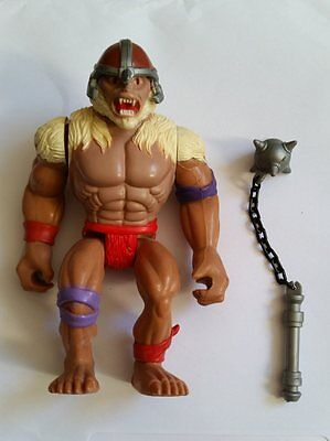 Thundercats Monkian with weapon / mace vintage action figure. Good condition 80s