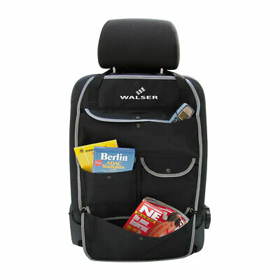 Walser Car Back Seat Tidy Storage Organiser Holder Cover Protector with Pockets