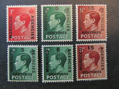 BRITISH OFFICES in MOROCCO, KING EDWARD VIII, MINT