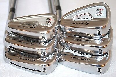 Taylormade RSi TP Forged 5-PW Iron set with KBS Tour stiff flex steel shafts