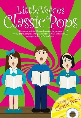 Little Voices: Classic Pops (Book/CD) BRAND-NEW