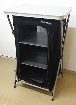 Eurohike 4 Shelf Collapsible Cupboard Camping Table Storage - Damaged Clips