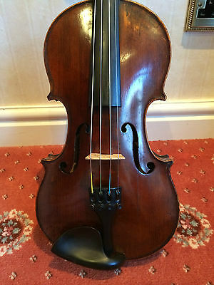 Excellent full size French violin with bow and case