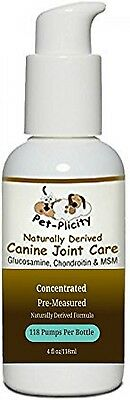 Pet-Plicity Liquid Glucosamine For Dogs, With Chondroitin, Aloe Vera And MSM,