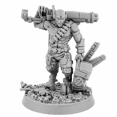 28mm scale G-GOOD SQUAD LEADER GHOST