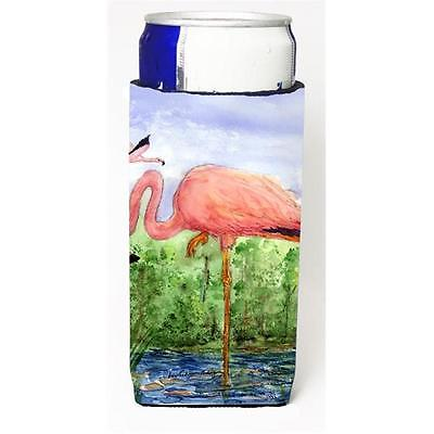Carolines Treasures Bird Flamingo Michelob Ultra s For Slim Cans 12 oz.