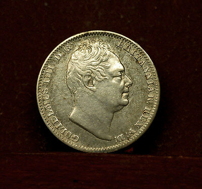 Great Britain 4 Pence 1832 XF - Silver  Maundy - William IV