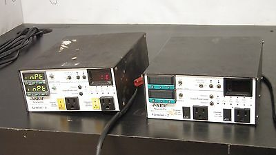 J-KEM Lot of 2: Gemini-2 Dual Temperature Controller