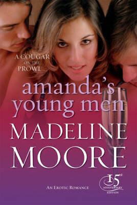 Amanda's Young Men   by Madeline Moore  . . . .  Black Lace
