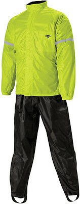 Nelson-Rigg WP8000HVY02MD WP-8000 Weather Pro Rainsuit Md Hi-Vis Green Medium