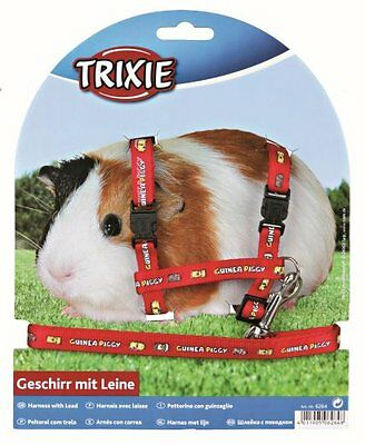 Trixie Nylon Harness and Lead Set for Guinea Pigs 6264