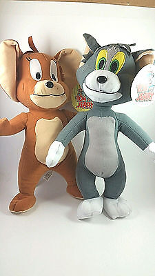 Tom And Jerry Plush Set Warner Brothers Cute Anime Cat And Mouse
