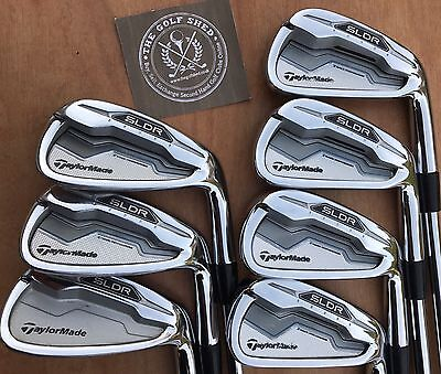 TaylorMade SLDR  Irons 4 - PW  - KBS TOUR C-TAPER 90 SHAFTS