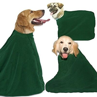 Dry Dog Bag Towel ? Medium ? Keeps Your Dog, Home And Car Clean and Dry ?