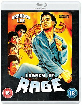 Legacy Of Rage [Dual Format Edition - DVD & Blu ray] NEW & SEALED - Brandon Lee