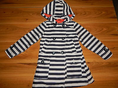 NEXT girls pretty striped spring coat 3-4 years *I'll combine postage
