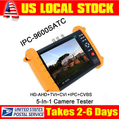 "7"" inch Touch screen 5-In-1 tester HD-TVI/AHD/CVI ONVIF IP CAMERA Tester Monitor"