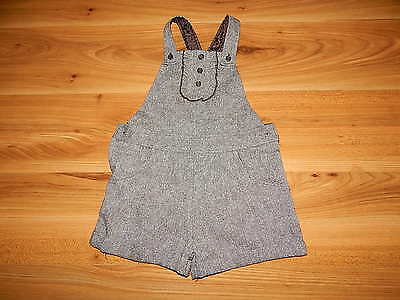 George girls dungarees outfit 3-4 years gold sparkle *I'll combine postage