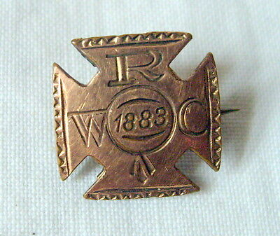 Antique 1883 Womens Relief Corps WRC Pin Grand Army of the Republic