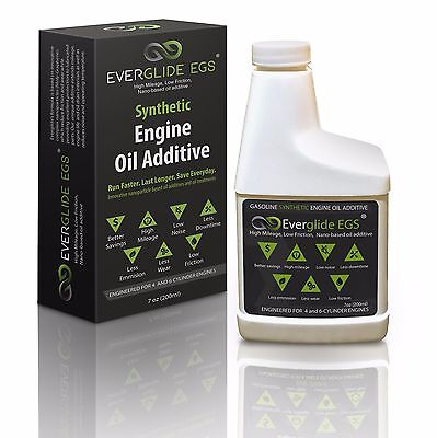 Everglide EGS Synthetic Nano-based Engine Oil Treatment. MPG Booster.