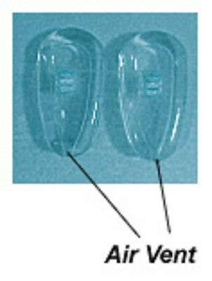 6 Pairs Air Active eyewear silicone Nose Pads - SCREW-ON (10,12,13,14,16mm)