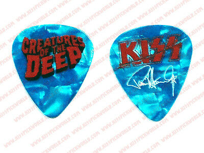 2016 KISS KRUISE VI Paul Stanley Creatures of the Deep Blue Sea Guitar Pick