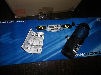 Speed Stacker Stackmat Game Lot: 12 cups, mat, timer, instructions