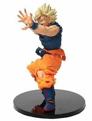 "Dragon Ball Z Super Saiyan Goku Sculpture Action Figure 7"" New Ship From USA"