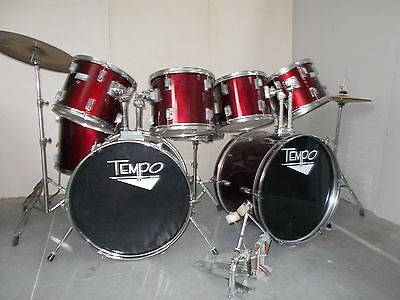 Beginners DOUBLE BASS DRUM KIT