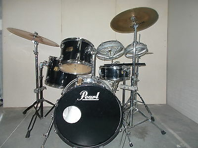 Pearl INXS inspired kit 22/10/12/12/ 16  14  drum kit and cymbals