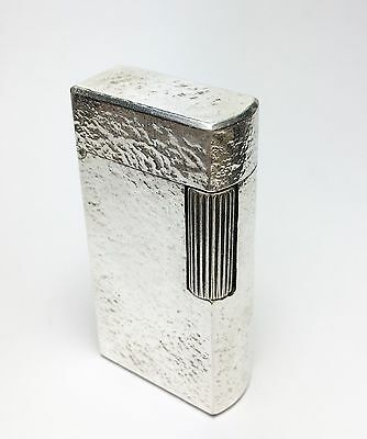 Dunhill 70 lighter, Silver Plated, just serviced, Great Condition