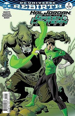 Hal Jordan And The Green Lantern Corps #2 Variant 2016 DC Comics Rebirth
