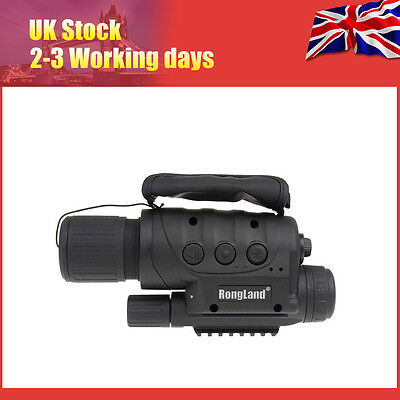 Night Vision Goggles Monocular IR Surveillance Cam Security Gen for Rifle Scope