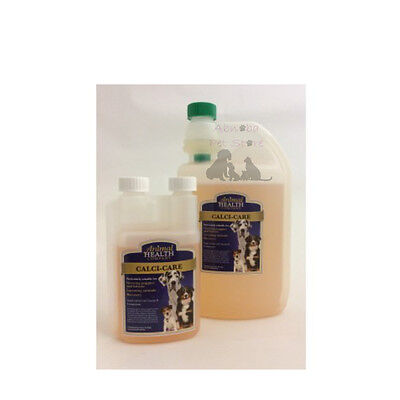 Calci Care Liquid calcium supplement absorbed more rapidly than tablets whelping
