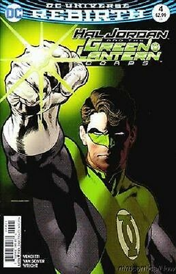Hal Jordan And The Green Lantern Corps #4 2016 DC Comics Rebirth