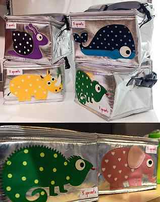 NEW 3 Sprouts Baby Children Kid Animal Insulated Lunch Cooler Bag RRP 39.95